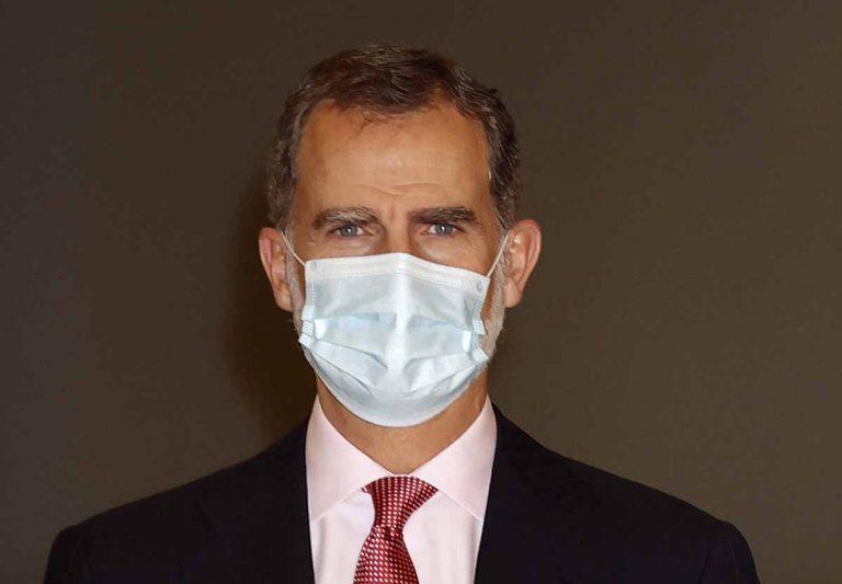 El rey Felipe VI, en cuarentena tras haber tenido contacto con un positivo en coronavirus