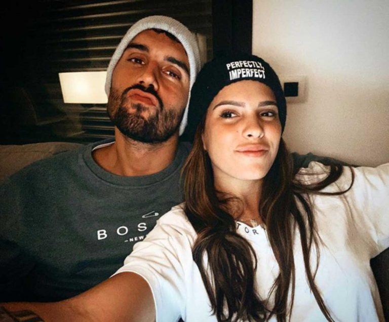 La foto de Gloria Camila y su novio, David, que hacía presagiar su amor