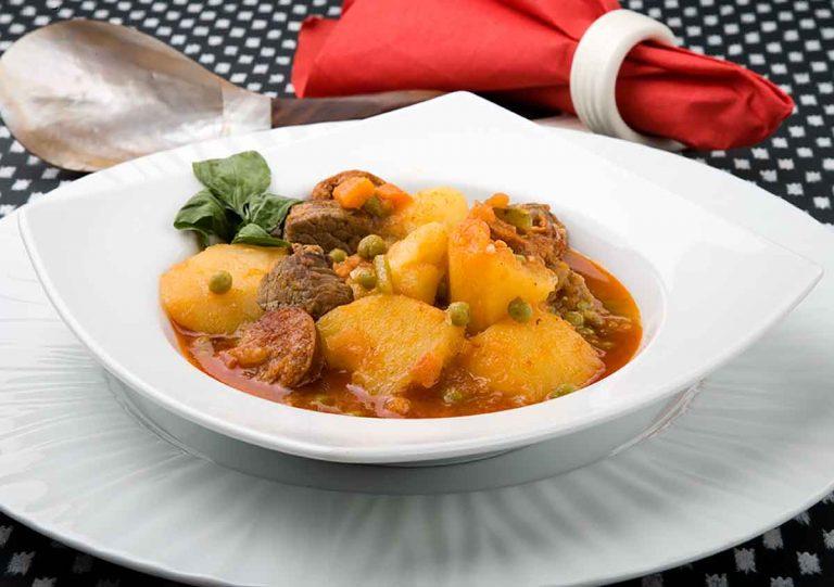 Patatas a la asturiana