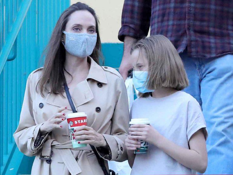 El estilazo de Angelina Jolie para ir de compras con su hija Vivienne (convertida en una adolescente)