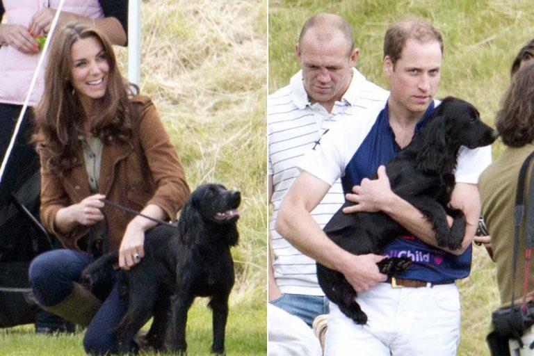 Los duques de Cambridge lloran la muerte de su perro Lupo