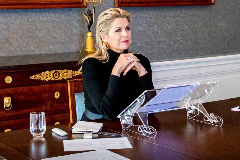 El nuevo peinado de Máxima de Holanda, a debate: ¿chic o descuidado?
