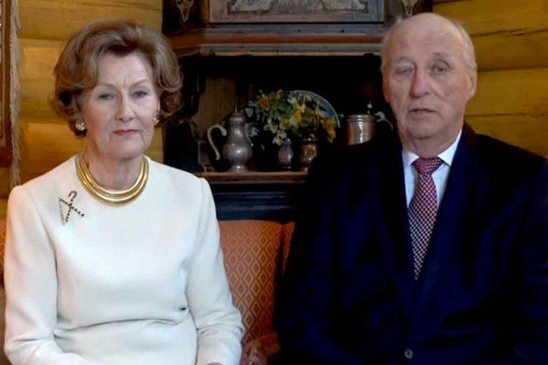 Los reyes Harald y Sonia de Noruega, en cuarentena por coronavirus