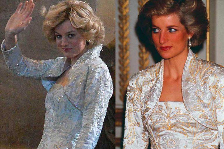 Los looks calcados de Diana de Gales y la Lady Di de la serie 'The Crown'