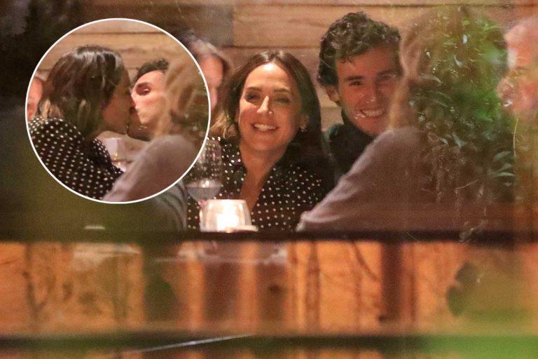 El beso sin mascarilla de Tamara Falcó y su nuevo novio, Íñigo Onieva