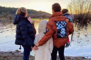 El plan familiar y de desconexión de David Bisbal y Rosanna Zanetti