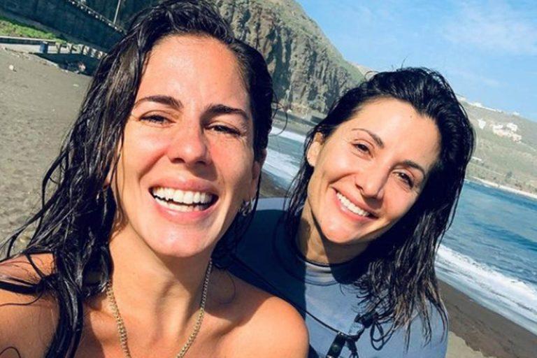 Anabel Pantoja y Nagore Robles: un reencuentro muy especial en Gran Canaria