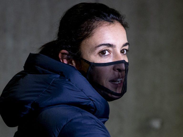 La mascarilla más top de Blanca Romero, protección total sin ocultar sus labios