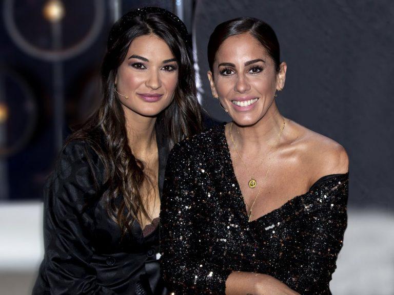 Anabel Pantoja y Estela Grande llevan el mismo vestido por una buena causa