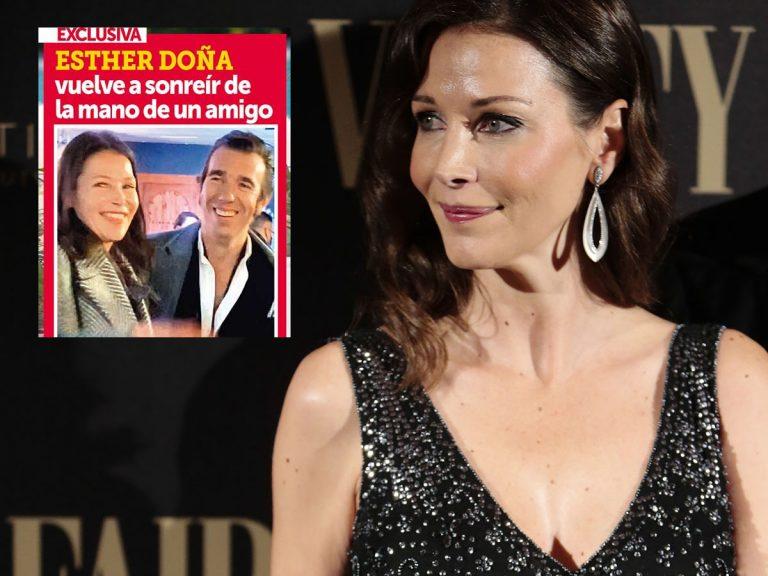 En SEMANA, Esther Doña vuelve a sonreír de la mano de un amigo