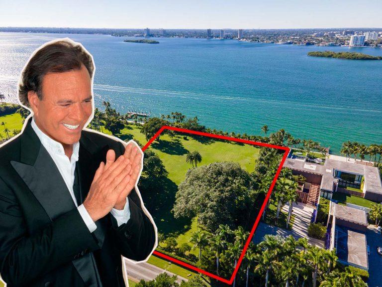 El gran sueño de Julio Iglesias en Miami, en manos de Ivanka Trump por 30 millones de dólares