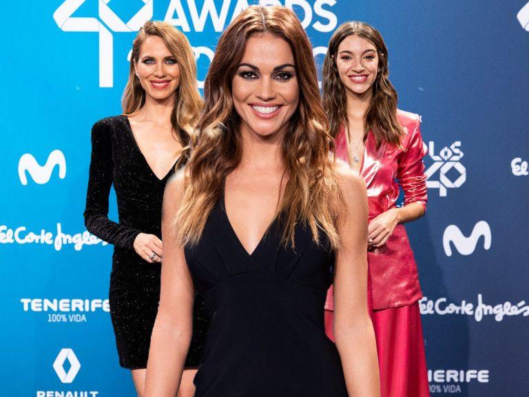 La sencillez de Lara Álvarez triunfa sobre el resto de invitadas a LOS40 Music Awards