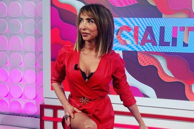 Fotos del día: la extraña postura con la que María Patiño celebra el éxito de 'Socialité'