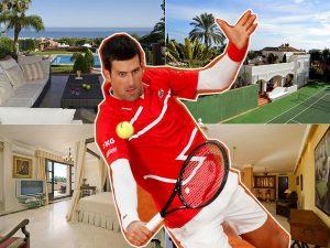 Novak Djokovic se compra una mansión en Marbella por 10 millones de euros
