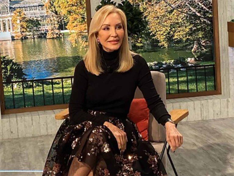 La falda que Carmen Lomana lleva a trabajar también es ideal para Nochevieja