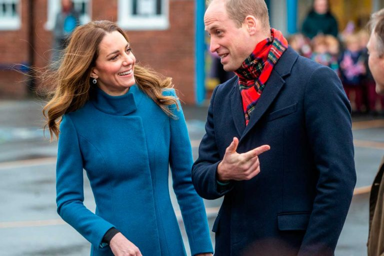 Kate y Guillermo de Inglaterra inician un tour navideño tras los pasos de los Reyes Felipe y Letizia