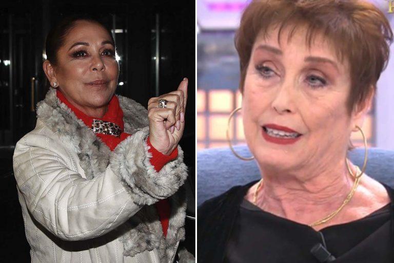 El mensaje de Verónica Forqué a Isabel Pantoja: «Te vas a morir siendo una desgraciada»