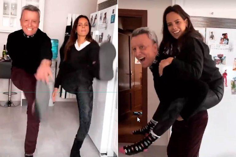 ¡Wow! La sesión de acrobacias de José Ortega Cano y Gloria Camila