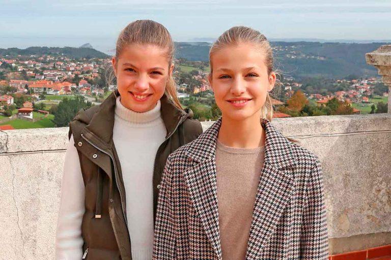 Así será el año de la Infanta Sofía sin su hermana, la Princesa Leonor