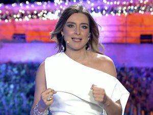 Así ha sido el magistral debut de Sandra Barneda en las Campanadas de Telecinco