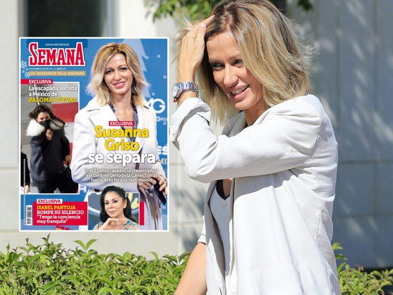 En SEMANA, Susanna Griso se separa de su marido, Carles Torras, tras 23 años de matrimonio