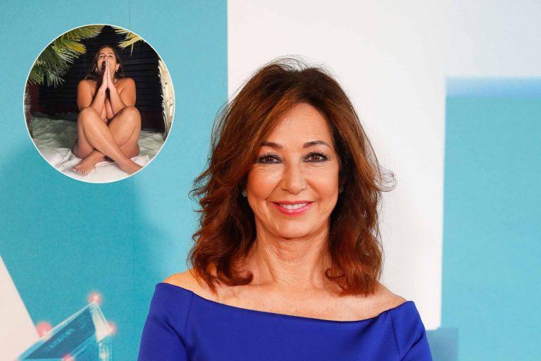 El desnudo de Anabel Pantoja, origen del enfado entre Ana Rosa Quintana y Miguel Ángel Nicolás