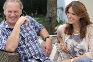 El importante gesto de Fabiola Martínez con Bertín Osborne en el Día del Padre