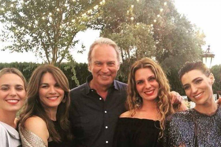La reacción en privado de las hijas de Bertín Osborne al enterarse de su separación de Fabiola Martínez