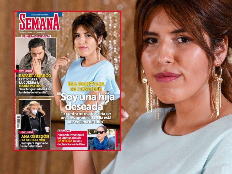 En SEMANA, Chabelita Pantoja se confiesa: «Soy una hija deseada»