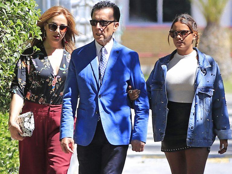 Ortega Cano, Ana María Aldón y Gloria Camila dan positivo en coronavirus: la salud del diestro preocupa mucho a su hija