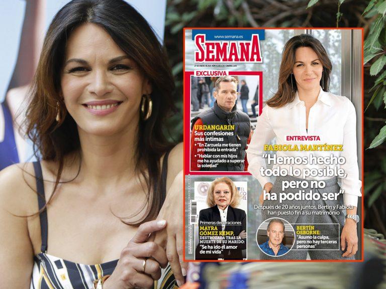 En SEMANA, Fabiola Martínez: «Hemos hecho todo lo posible, pero no ha podido ser»