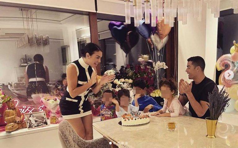 La celebración de cumpleaños casera (y en familia) de Georgina Rodríguez