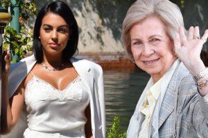 Georgina Rodríguez recibe un emotivo mensaje de la reina Sofía