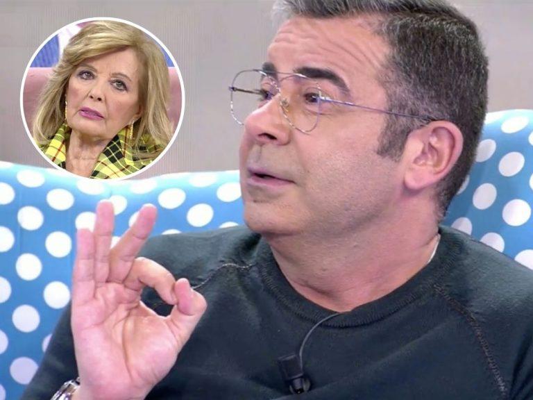 Así responde Jorge Javier Vázquez a las palabras de María Teresa Campos sobre su enfrentamiento
