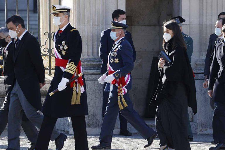 Los Reyes presiden la Pascua Militar: todas las fotografías de su primer acto de 2021