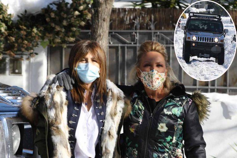 Gema López y Lydia Lozano, rescatadas para poder llegar al trabajo en 'Sálvame'
