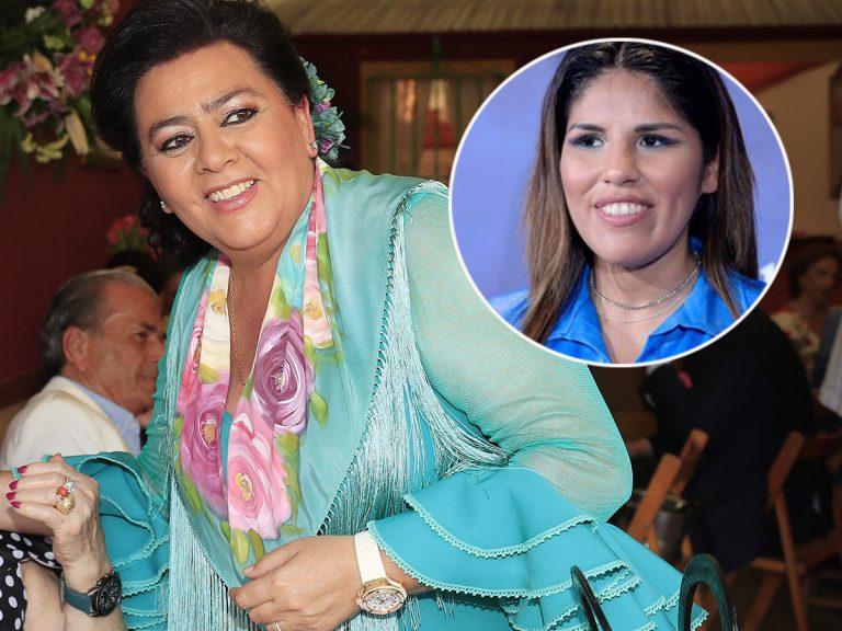 ¿Quiere María del Monte un acercamiento con Chabelita Pantoja? Su contundente respuesta