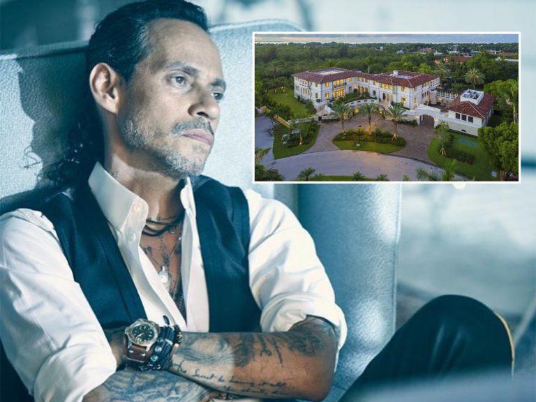 Marc Anthony vende su mansión por 22 millones para no ser vecino de su ex, Jennifer López