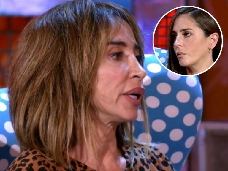 María Patiño, entre lágrimas, pide perdón a Anabel Pantoja