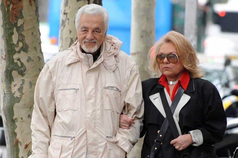 Muere el marido de Mayra Gómez Kemp a los 91 años