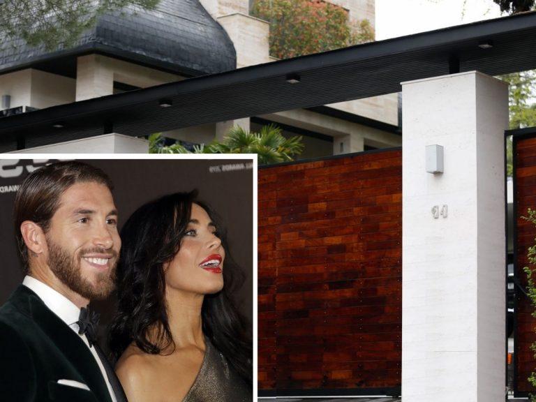 Todas las fotos de la impresionante mansión de Pilar Rubio y Sergio Ramos