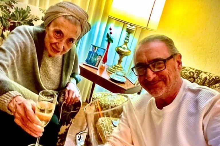 Muere la madre de Carlos Herrera, doña Blanca Crusset