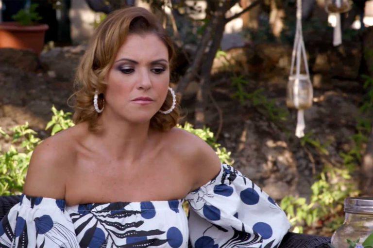 María Jesús Ruiz sufre un doloroso percance durante su cena más salvaje