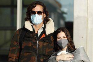 Sandra Gago y Feliciano López reciben el alta hospitalaria junto a su bebé