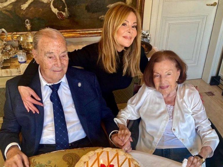 Ana Obregón, a su padre: «Alguien en el cielo te está cantando cumpleaños feliz»
