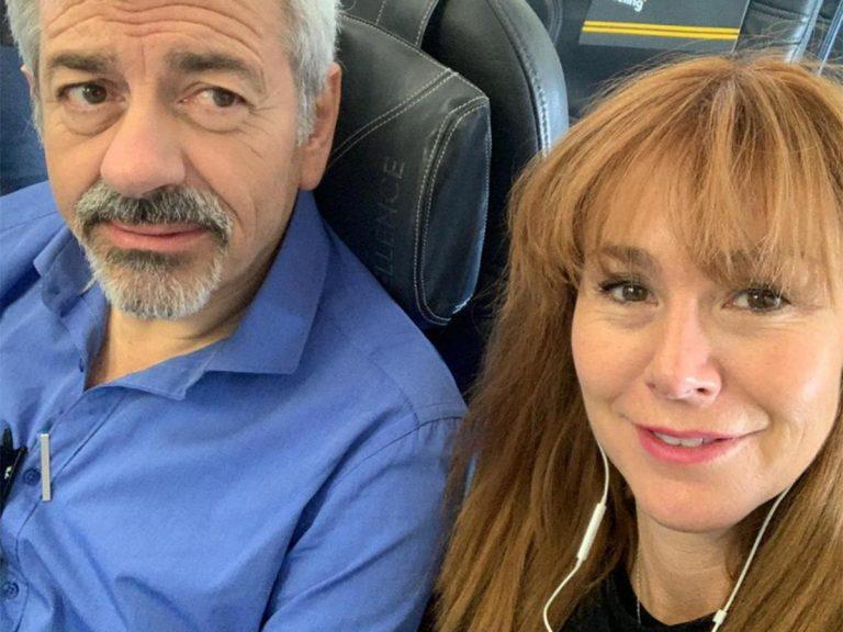Carlos Sobera desvela cómo está su mujer tras sufrir un derrame cerebral