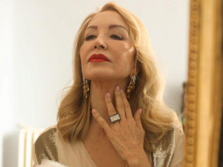 Las lujosas cremas con las que Carmen Lomana cuida su piel