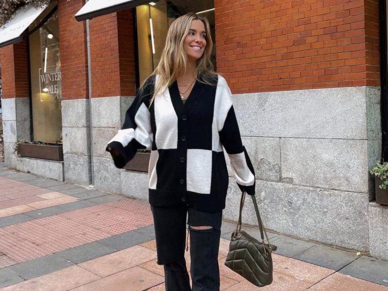María Pombo se despide de la chaqueta más original tras prenderle fuego