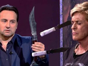 Iker Jiménez lanza cuchillos a Chelo García Cortés: los memes que roban carcajadas al presentador