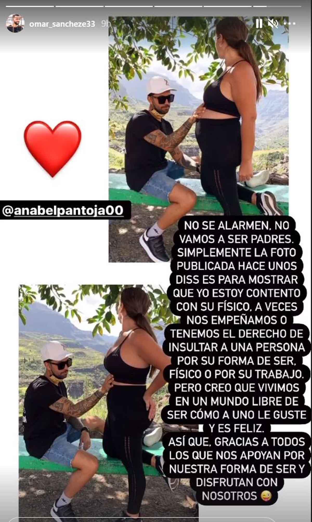 Omar Sánchez Anabel Pantoja
